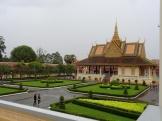 Bij het paleis van de koning