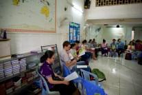 Alles gaat in het Khmer!