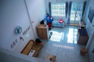 Onze woonkamer is nu een eind klaar