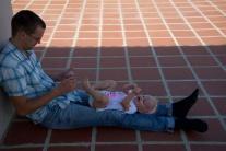 Papa leert z'n Khmer