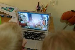 Sterretjes via Skype :)